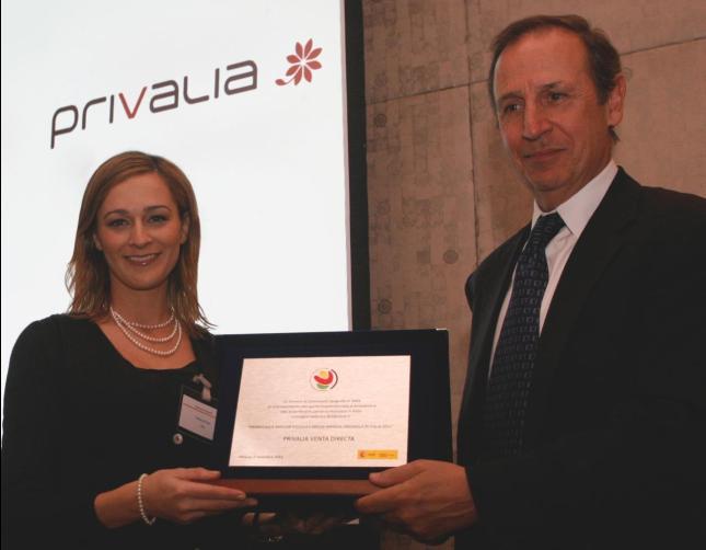 Privalia reconocida como la mejor Pyme del 2011 de origen español en Italia