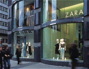 Tiendas de Zara