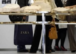 Compras en Zara