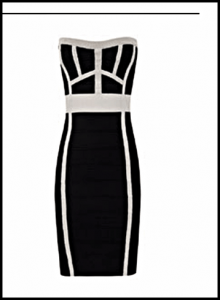 Vestido de la linea Tricot de la marca Blanco