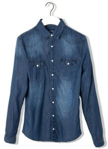 Camisa denim Pull and Bear