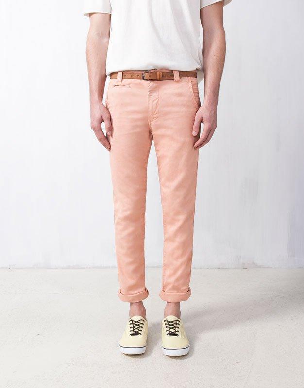 Pantalones de colores Pull & Bear