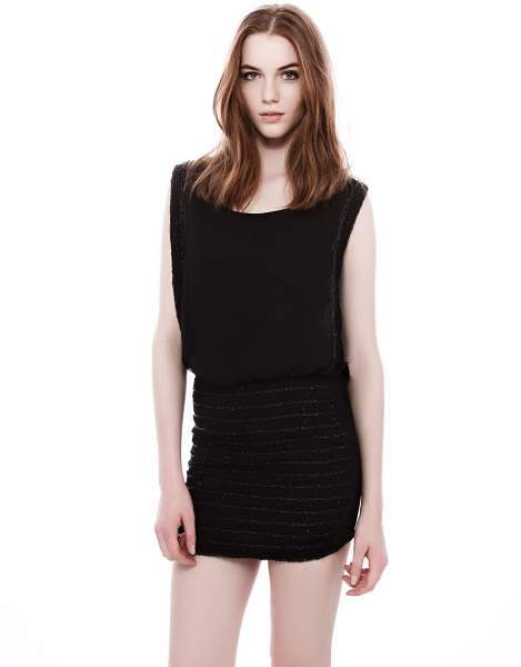 Vestido Night Collection de Pull and Bear