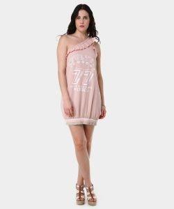 Vestido rosa de pinko en Privalia