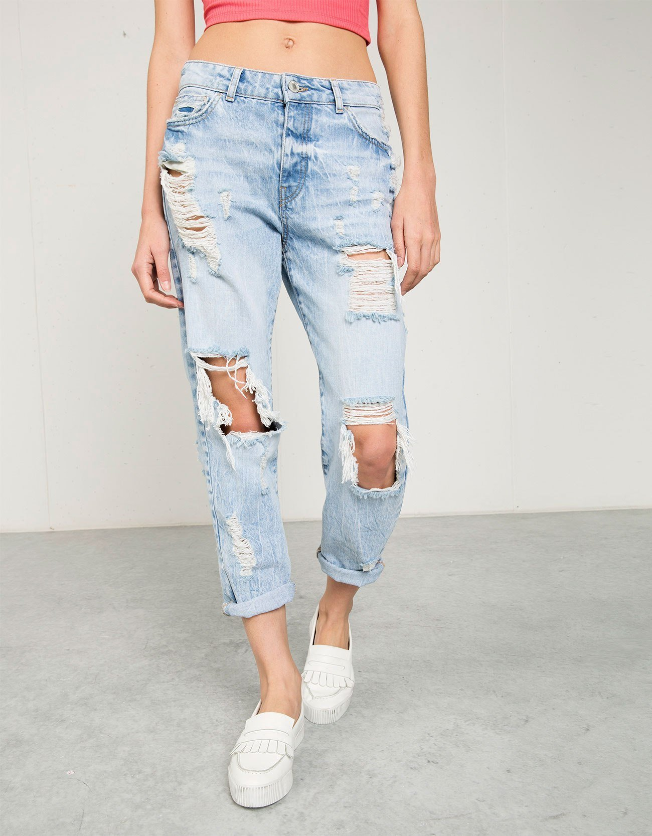 Los 3 Bershka jeans que no puedes perderte