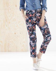 Stradivarius pantalones de flores