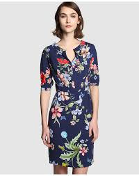 Vestido estampado de flores Bershka
