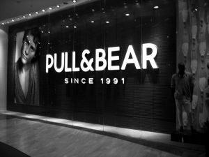 La marca de moda Pull&Bear
