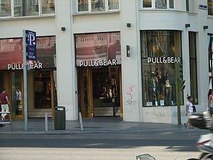 Las tiendas de Pull and Bear